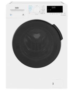 Beko WDB7426R1W Freestanding Washer Dryer