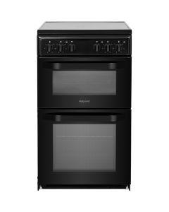 Hotpoint HD5V92KCB 50cm Electric Cooker