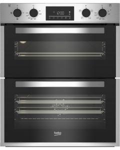 Beko BBTF26300X Built Under Double Oven